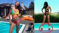 Agáta se vyprsila u bazénu: Fanoušky ale zaujal jeden bizarní detail!