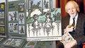 Humor i lebky v zámecké jízdárně: Výstava na Kozlu je poctou legendárnímu Nepraktovi