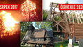 Replika vyhořelého kostelíku v Gutech má už věž: Svatostánek staví rekordním tempem