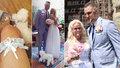 Zajíček nestačí? Nevěsta Monika Štiková (48) prožila svatební noc ve třech!