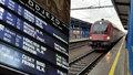 Železniční komplikace: Kvůli strženému trakčnímu vedené stály vlaky mezi Prahou a Dobřichovicemi pět hodin