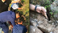 Chlapec (7) při koupání uvízl v zatopené jeskyni: Zachránila ho ruka trčící ze země