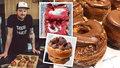 Lukáš (34) v Praze smaží křížence amerických donutů a francouzských croissantů: Denně zpracuje 45 kg těsta