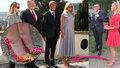 ONLINE: Babiš přivítal Pompea v Kramářově vile. Monika přišla v lodičkách po Vivien