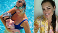 Alena Šeredová tři měsíce po porodu: Z dcery má plaváčka!