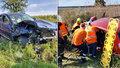 Na Kladensku zemřeli hasič a hasička: Nepřežili srážku s bavorákem
