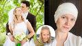Muzikálová kráska se po operaci uší vdala! Svatbu fotila půvabná Grossová