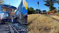 Železniční neštěstí v Kdyni: Motorák letěl vzduchem 10 metrů! Po kolejích klouzal jako po másle
