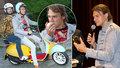 Motorkář a svačinář Dyk na křtu přiznal: Rok nepřečetl žádnou knihu!