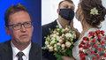 Epidemiolog Chlíbek: Omezí se počty svatebčanů a budou podniky přidávat židle?