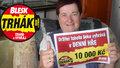 Výherkyně 10 tisíc Božena Pospíšilová (58) z Přelouče: A mám na vánoční dárky!