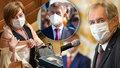 Zeman, Babiš a Schillerová řešili v Lánech rozpočet: Schodek bude vyšší, než 116 miliard
