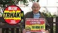 Miloslav Hradec (82) z Prahy se raduje: 60 let od svatby oslavil výhrou 10 tisíc v Trháku