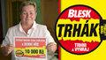 Marie Hahnová (68) z Ludgeřovic zapila výhru v Trháku koňáčkem: 10 tisíc na vánoční dárky vnoučatům