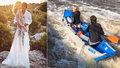 Tereza Maxová odvážně slavila 4. výročí svatby: Pořádným sešupem!