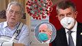 Koronavirus ONLINE: Zeman přijme nástupce Prymuly. A 10 273 případů v ČR za pondělí