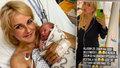 Vendula Pizingerová (48) je šik i v porodnici! Nesmí mě to dostat, říká po porodu