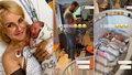 Vendula Pizingerová 3 dny po porodu: Už je doma!