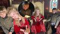 Konečně změna k lepšímu! Malý car Pljuščenko má na poslední fotce úsměv od ucha k uchu