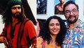 Jak dnes vypadá Sandokan? Kabir Bedi má o 29 let mladší ženu a vlastního tygra!