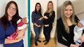 """Spolužačky ze """"základky"""" se sešly v porodnici: Monika s Markétou nečekaně rodily ve stejný den"""
