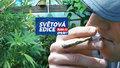 """Kouření marihuany také škodí, ale méně než tabák. Jaké látky """"tráva"""" uvolňuje do plic?"""