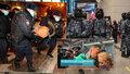 Navalnyj je zpátky v Moskvě, hned ho odvedla policie. Zadržela i jeho stoupence