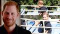 Tajemný princ Harry se odhalil: Promenoval se před fanoušky! A změnil účes, nebo ne?