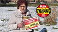 Karla Lancová (74) vyhrála 10 tisíc v Denní hře Trháku: Vezme rodinu na dovolenou. Až to půjde...