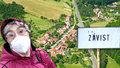 Závisti není co závidět: Nejmenší obec Česka má na vycházky katastrem pár metrů