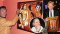 Gottovy erotické sny! Tajemství obrazu, který ukradli miliardáři Janečkovi