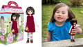 Firma vyrobila panenku podle holčičky (6) s Downovým syndromem: Udělala jí obrovskou radost