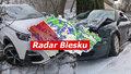 Husté sněžení způsobilo potíže a řadu nehod. Výrazně se oteplí, sledujte radar Blesku