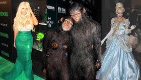 Slavná strašidla  Celebrity a jejich halloweenské kostýmy ! 6706da3568