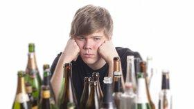 Opilých dětí přibývá a jsou stále mladší: Třetina 15letých pije pravidelně
