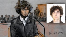 Mladého atentátníka z Bostonu čeká smrt: Soud vynesl ortel nad Carnajevem