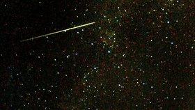 Meteory nad Českem: Vědci odhalují jejich fascinující tajemství