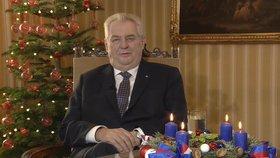 """Populismus, popletený žánr i nejlepší projev: Hodnocení """"vánočního"""" Zemana"""