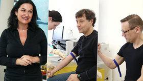 Čejková znovu ve společnosti: Přinutila Básníky k vyšetření prostaty!