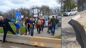 Obří betony na konci bezbariérového výletu do ZOO jsou pryč. Byl to šlendrián, říká Praha 7