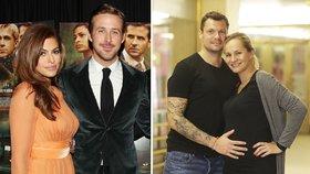 Eva Mendes (42) čeká druhé dítě  Které další slavné ženy na tom byly d2db540883