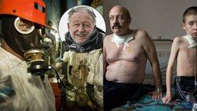 Gerd Ludwig vystavuje v Praze snímky zkázy Černobylu: Fotil uvnitř reaktoru smrti