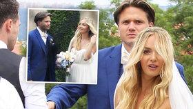 Brzobohatý Gregor a Kuchařová po pompézní svatbě: Konečně přiznali, jak se jmenují!