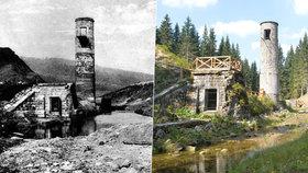 100 let od protržení přehrady Desná: Zkázu předznamenal malý pramínek…
