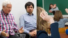 Děti v českých školách trpí, učitelé si léčí komplexy, tvrdí profesor Hejný