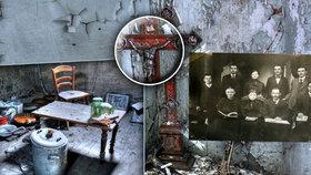 V opuštěném domě se za druhé světové války zastavil čas: Urazili Ježíšovi hlavu nacisté?