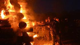 Pochvala Pražanům na čarodějnice: Podle hasičů byly nejklidnější za poslední roky