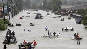 Stane se Harvey nejdražším hurikánem v historii? Škody se odhadují na 3,9 bilionu