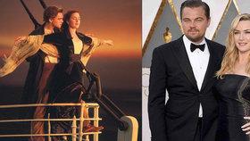Film Titanic slaví dvacáté narozeniny! Co díky němu získali Winslet a DiCaprio?
