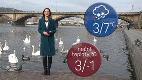 Počasí s Honsovou: Prodloužený víkend přinese přeháňky, sníh i padající hvězdy